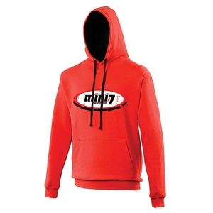 Mini 7 Hoodie - Red/Black