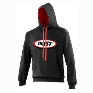 Mini 7 Kids Hoodie - Black/Red