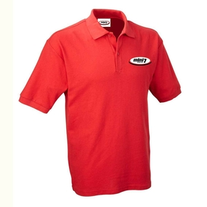 Mini 7 Classic Kids Polo - Red