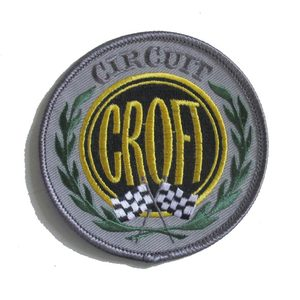 Croft Circuit Embroidered Patch